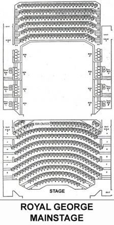 Theatre Seating The Royal George Theatre